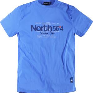 Printet T-shirt fra North