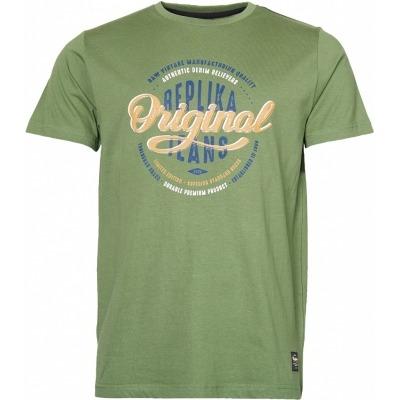 replika tee grøn jeans